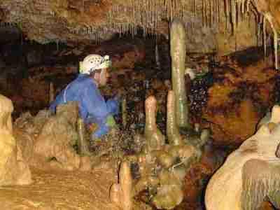 caving in spain