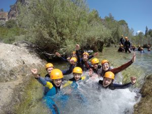 canyoning cuenca 2