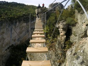 via ferrata in cuenca spain