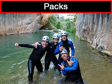 Adventure activities packs