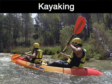 Kayaking in Cuenca