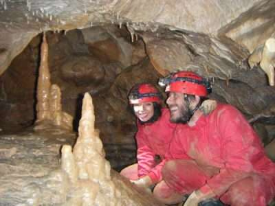 Pack canyoning and caving