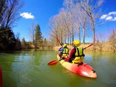 piraguismo aguas rapidas en cuenca