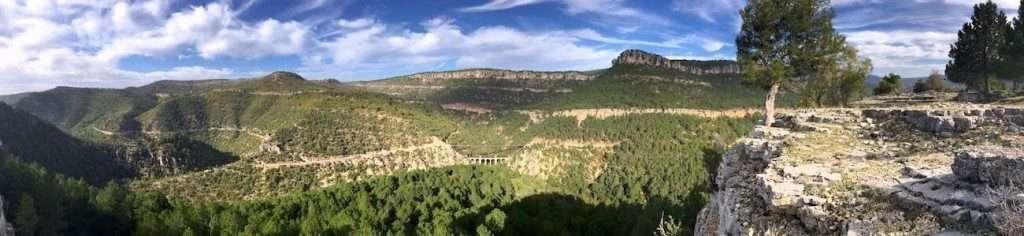 foto panoramica cuenca alojamientos recomendados en cuenca - jucar aventura