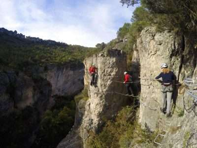 Via ferrata Priego 5