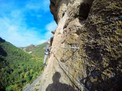 Via ferrata Priego 3