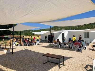 Barranquismo en Cuenca - instalaciones Júcar Aventura 5